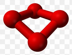 Trivia Questions And Answers - Tetraoxygen Polyatomic Ion Molecule Ball-and-stick Model PNG