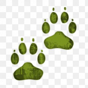 Dog Paw Clipart - Dog Cat Paw Printing Clip Art PNG