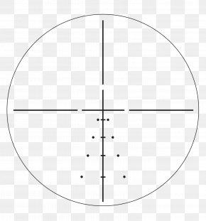 Crosshair - Reticle Telescopic Sight Eyepiece Milliradian Optics PNG