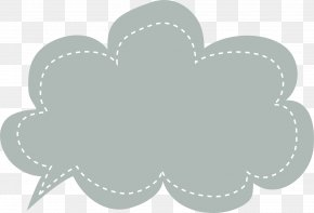 Grey Dialog - Text Messaging Email Heart Pattern PNG