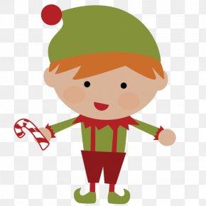 Elf Clipart - Christmas Elf Santa Claus Clip Art PNG
