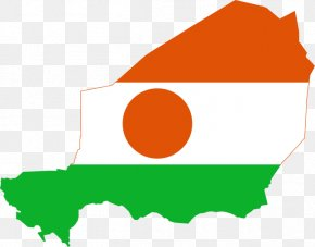 Map - Flag Of Niger Map National Flag PNG