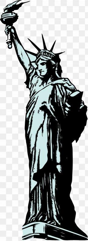 Statue Of Liberty Art - Statue Of Liberty Clip Art PNG