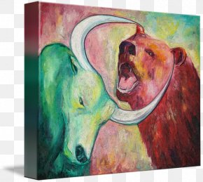 Painting - Watercolor Painting Modern Art Gallery Wrap PNG