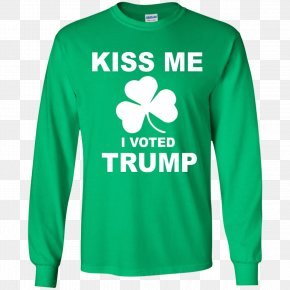 Saint Patrick's Day - T-shirt Hoodie Saint Patrick's Day Sleeve PNG