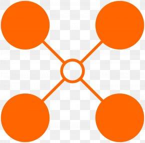 Yellow Orange - Orange Background PNG