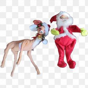 Reindeer - Reindeer Animal Figurine Christmas Ornament PNG