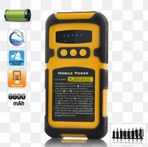 Portable Battery - Telephony Communication Electronics PNG