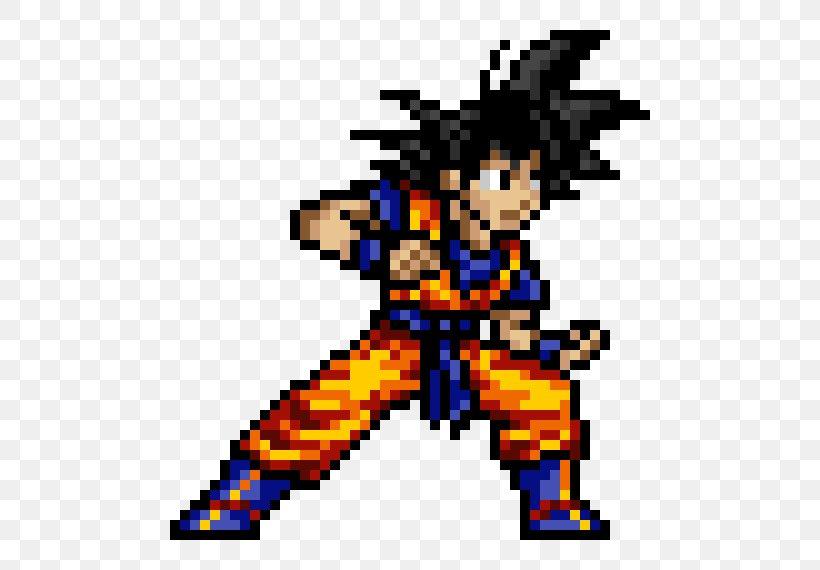 Goku Super Saiyan Pixel Art Jump Ultimate Stars Png