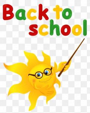 Back To School - School Cartoon PNG