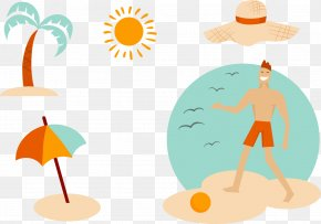 Summer Vacation Surfing - Beach Vacation Summer PNG