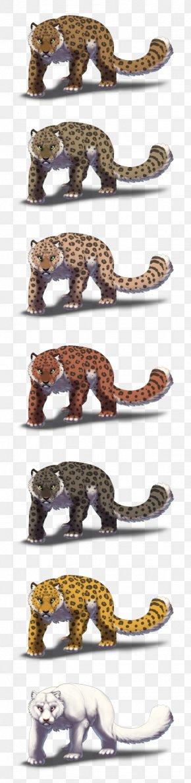 Leopard - Snow Leopard Big Cat Artstation PNG