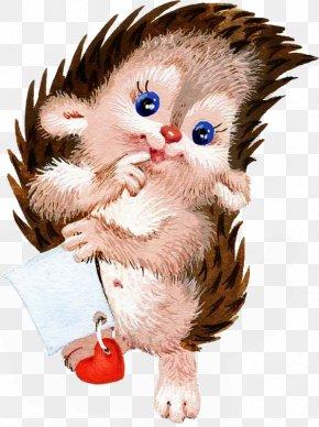 Cartoon Hedgehog - Hedgehog Animal Illustration PNG