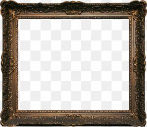 Vintage Wooden Picture Frame - Picture Frame Photography Film Frame Digital Photo Frame PNG