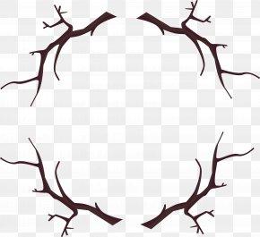 Branch Wood Frame PNG