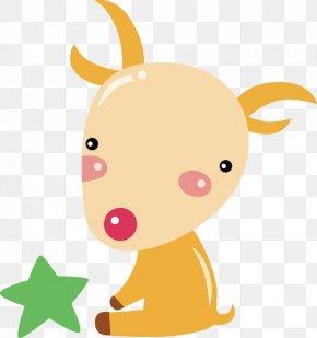 Cartoon Goat - Goat Capricornus Constellation Aries PNG