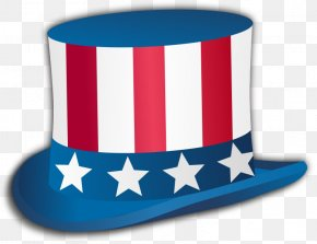 Independence Day - Independence Day Hat United States Uncle Sam Clip Art PNG