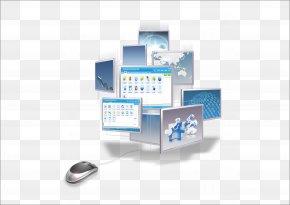 Vector Illustration Creative Computer Information - Information Technical Standard Data Internet U4f20u7edfu5a92u4f53 PNG