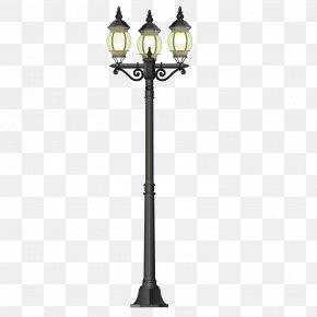 Beautiful Street Light - LED Street Light Lamp PNG