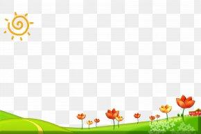 Cartoon Field - Computer Graphics PNG