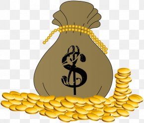 Money Bag - Money Bag Gold Clip Art PNG