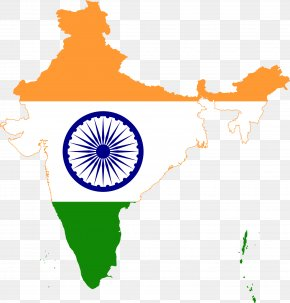 Indian Flags - Flag Of India Map National Flag PNG