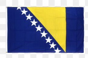 Flag - Flag Of Bosnia And Herzegovina Bosnian Independence Day National Flag PNG