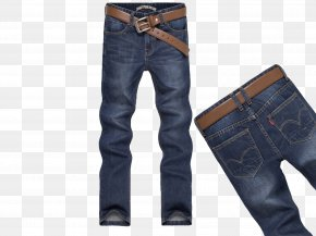 Jeans For Men - Jeans Denim Clothing PNG