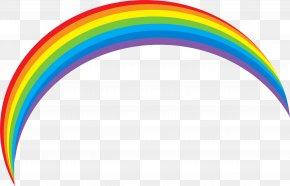 Rainbow Image - Light Rainbow Color Iridescence Sky PNG