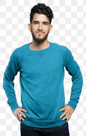 Taobao Blue Copywriter - T-shirt Christmas Jumper Clothing Sweater Blue PNG