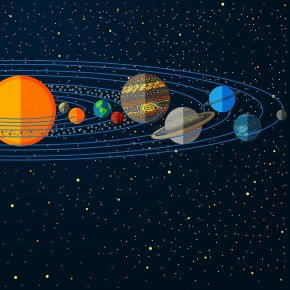 Solar System,star - Solar System Planet Jupiter Illustration PNG