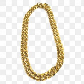 Thug Life Gold Chain Pic - Gold Chain Necklace PNG