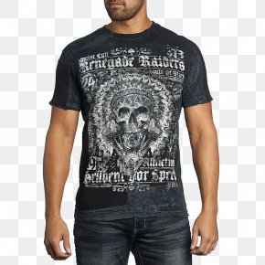 T-shirt - T-shirt Affliction Clothing Crew Neck Adidas PNG