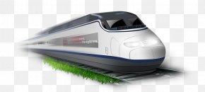 Train - Train Rail Transport Xianu2013Chengdu High-speed Railway PNG