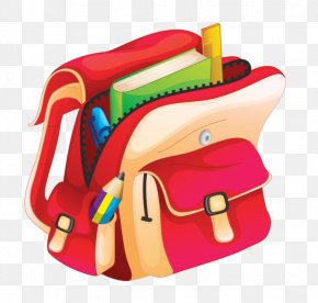 School - School Cartoon Bag PNG
