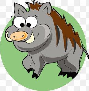 Boar Vector - Wild Boar Euclidean Vector Clip Art PNG