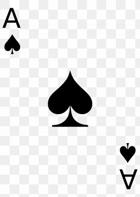 Ace Card - Playing Card Skat Suit Card Game Spades PNG