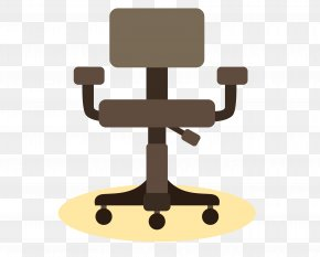 Vector Office Seats - Table Rocking Chair Office Chair PNG