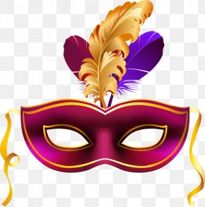 Exquisite - Venice Carnival Mask Clip Art PNG