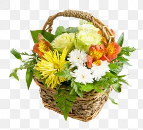 Flower - Flower Bouquet Basket Rose Stock Photography PNG