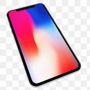 Iphone X - IPhone X IPhone 8 Qualcomm Telephone PNG