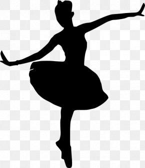 Pointe Shoe Ballet Flat - Athletic Dance Move Ballet Dancer Silhouette Dancer Dance PNG