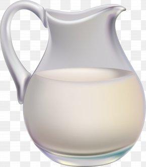 Milk Jar PNG - Kefir Cow's Milk Cream Pitcher PNG