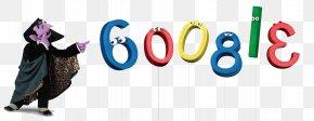 Count Von Count - Oscar The Grouch Google Doodle Count Von Count Enrique PNG