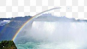 A Niagara Falls, Canada - Rainbow Bridgexe2u20acu201ctunnel Sky Energy Wave PNG