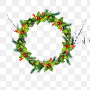 Christmas Circle - Christmas Party Greeting Card Gift PNG