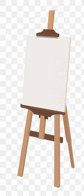 Painting Easel - Easel Artist Painting Donkey PNG
