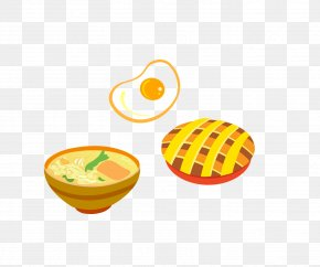 Breakfast Eggs - Breakfast Fried Egg Pancake Congee Omelette PNG