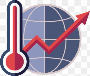 Global Warming Thermometer - Euclidean Vector Arrow Computer File PNG