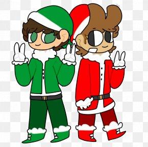 Santa Claus - Santa Claus Christmas Human Behavior Finger Clip Art PNG